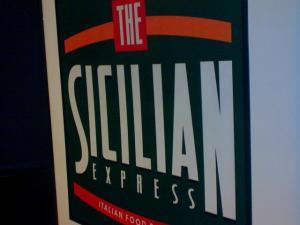 The Sicilian Express along Tomas Morato in Quezon City