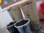 Tiramisu milk tea and Winter melon milk tea